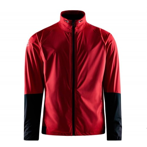 Abacus Mens Pitch 37.5 RainJacket - Red