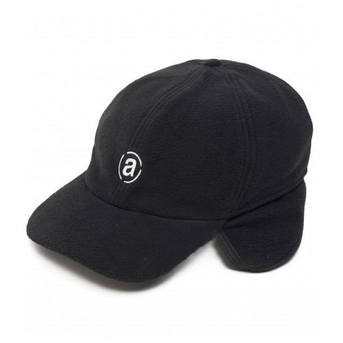 Abacus Grizzly Fleece Cap - Black