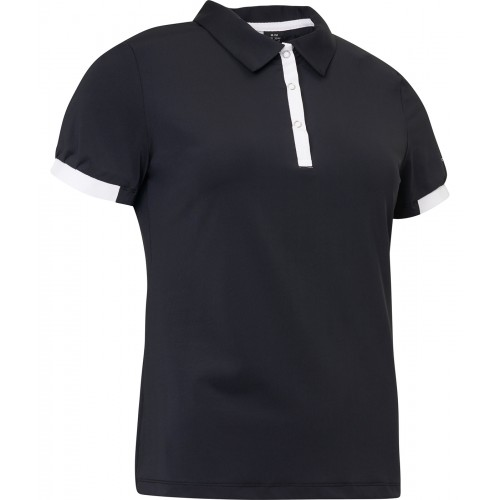 UPPSELT Cherry Polo - Black