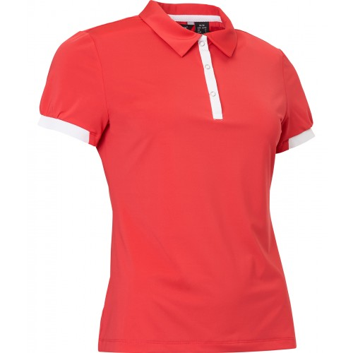 Cherry Polo - Poppy Red