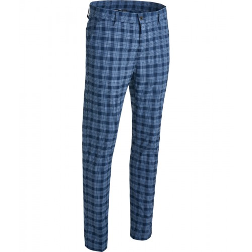 Abacus - Ringer Trousers - Navy Check