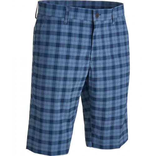 Ringer Shorts - Navy check