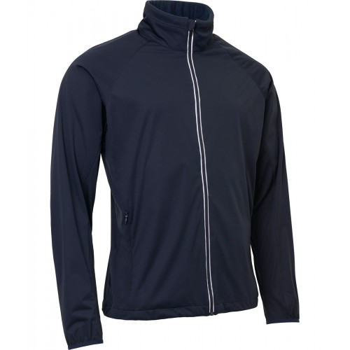 Mens Portrush strech wind jacket - Navy