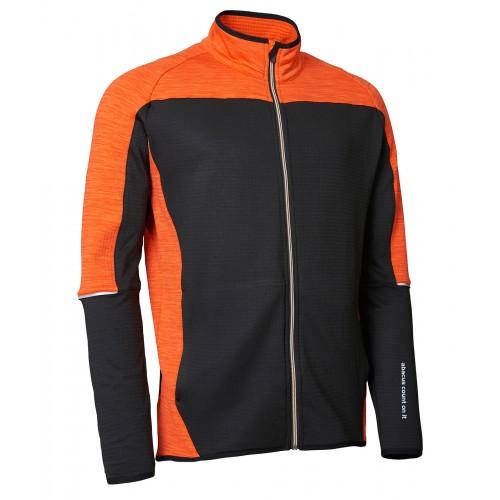 Trickle Fleece Jacket - Orange