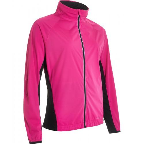 *Portrush strech wind jacket - Powerpink