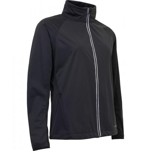 *Portrush strech wind jacket - Black