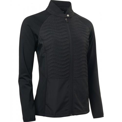 Lds Troon Hybrid Jacket - Black