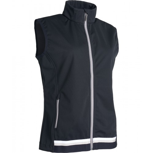 *Navan Softshell Vest - Black