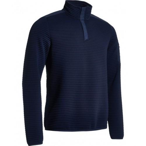 Budock halfzip fleece - Navy