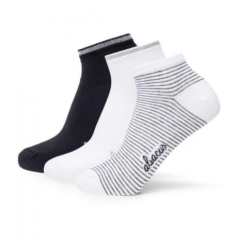 Lds Camargo 3-Pack Socks - Black