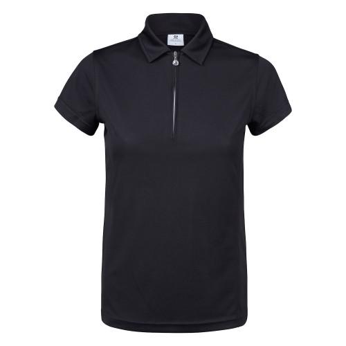 Macy Cap/s Shirt - Black
