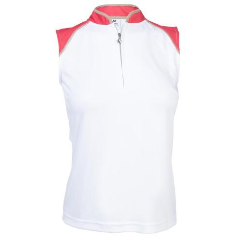 Megan SL Polo Shirt - Watermelon
