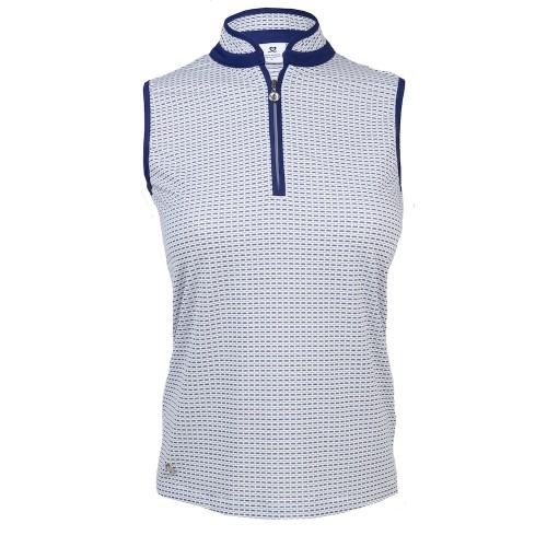 Talia SL Polo Shirt - Navy