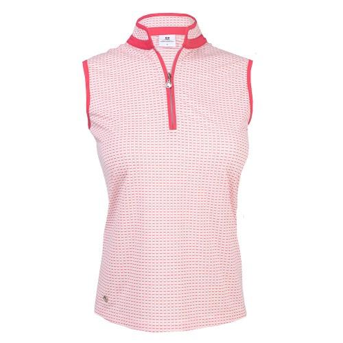 Talia SL Polo Shirt - Watermelon
