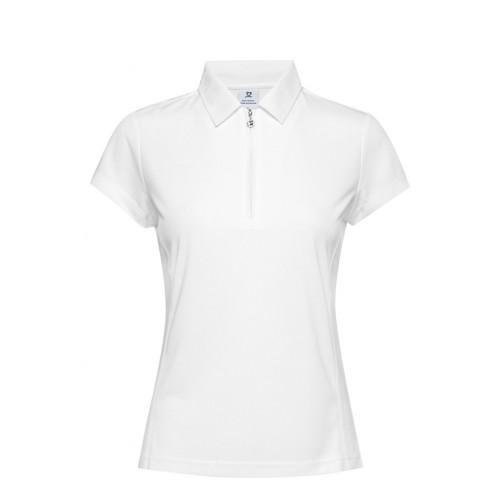 Macy Cap/s Shirt - White