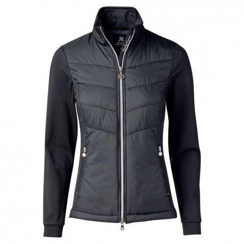 Draw Golf Jacket - Black
