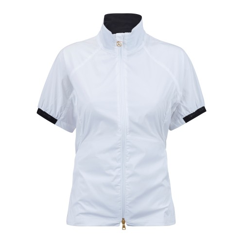 Pivot S/S Wind Jacket - White