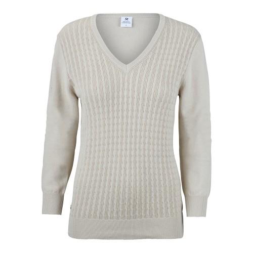 Campbell V-neck Pullover - Sahara