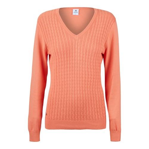 Campbell V-neck Pullover - Mango