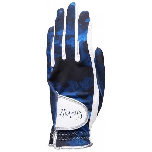 Blue Camo Golf Glove