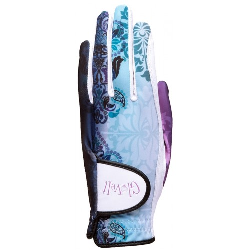 Lilac Paisley Golf Glove