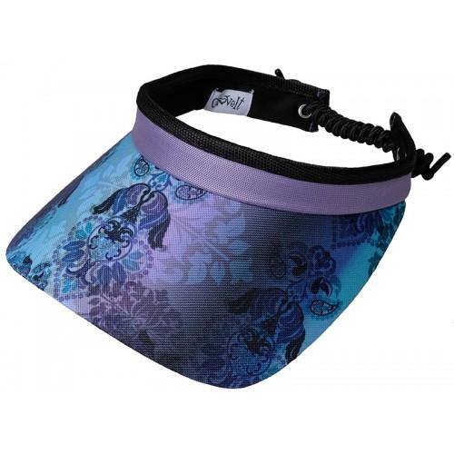 Lilac Paisley Visor
