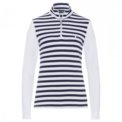 Striped Troyer -  White