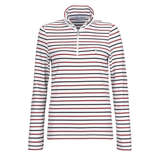 UPPSELT Melissa Striped Longsleeve - Red