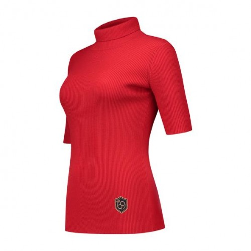 Body Top Turtleneck - Red